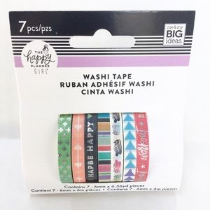 Healthy Hero Washi Tape NWT
